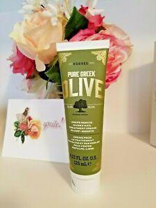 KORRES  Pure Greek Olive Oil Crepe Rescue Hand & Nail Treatment Cream 4.23 oz