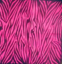 Pink Zebra Bandana 100% Algodón Cabeza Banda Bufanda Perro Corbata feeanddave