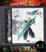 Final Fantasy VII 7 (PlayStation 1, 1997) PS1 FF7