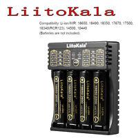 LiitoKala Lii-402 4 Slot Battery Charger AA/AAA for 18650 Ni-MH Li-ion/IMR G9H2