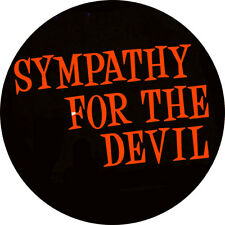 CHAPA/BADGE SYMPATHY FOR THE DEVIL . pin button the rolling stones keith richard
