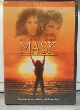 Mask (DVD, 2004, Director's Cut) RARE 1985 DRAMA CHER SAM ELLIOTT BRAND NEW
