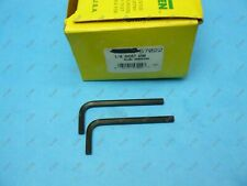 "Holo Krome 57022 Short Arm 3/16"" Inch L Hex Key Allen Wrench Alloy Steel QTY 2"