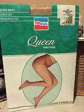 Wow! Vintage Pathmark Queen nude beige pantyhose