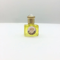 MINIATURE DE PARFUM COLLECTION CAMEE SUR FLACON JAUNE DORE