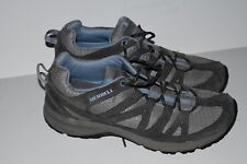 """MERRELL Womens """"Castle Rock"""" Laurel/Gray Trail/Hicking Shoes US Size 9.5"""