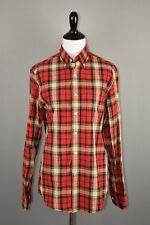 J.Crew Women's Red Plaid Long Sleeve Button Down Shirt XS