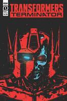 Transformers Vs Terminator #1 Cvr A (2020 Idw Publishing) Fullerton Cover