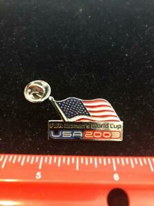 NEW USA 2003 FIFA Women's World Cup Pin Flag Logo New Old Stock NOS  Packaged