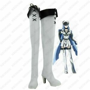 Akame Ga KILL Esdeath Cosplay Boots Esdese Anime Shoes