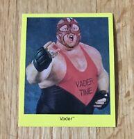 Vader WWF WWE 1997 Cardinal Wrestling Card