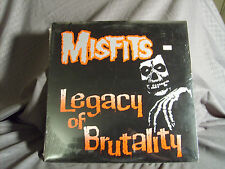 The Misfits Legacy Of Brutality-LP-Sealed-Mint-Plan 9-Glen Danzig Halloween