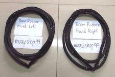 FOR NISSAN DATSUN 720 PICKUP 2 DOOR FRAME RUBBER Weatherstrip Complete Set Seal
