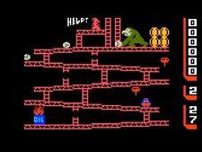 Donkey Kong 80s Retro Video Game Iron On T-Shirt Transfer A5
