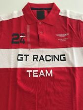 Hackett Men's Classic GT Racing Aston Martin Racing Polo Shirt RRP £105 Size L