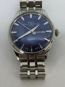 Ball Trainmaster Eternity Stailess Steel Automatic