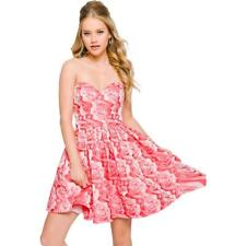 Jovani Pink Rhinestone Strapless Homecoming Semi-formal Dress 0 BHFO 6245