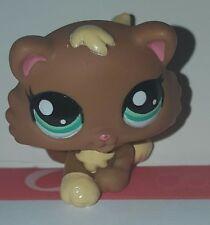Littlest Pet Shop Brown Kitten #2328, Aqua Eyes, Rare