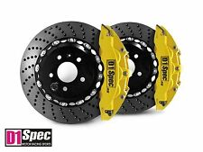 D1 Spec Front RS Big Brake 6Pot Caliper YELLOW 355x32 Drill Disc for E46 M3