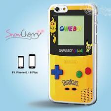 iPhone X 8 7 SE 6 6S Plus 5 5S 5C 4 4S Case Cover Pokemon Yellow Gameboy C19