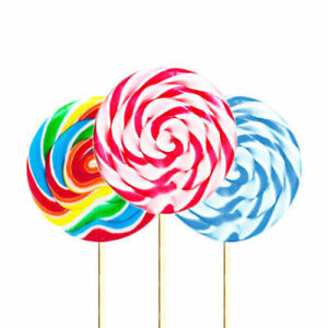 LOLLIPOP CANDY LOLLIES Birthday Party Baby Shower  Bag Filler Lolly Xmas Gift UK