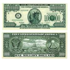 1000000 $ Million Dollars 2003 Unc. /691347## Fantasy Banknote,Not a legal tende