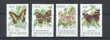 Moldova 1993 Butterflies and Moth 4 MNH stamps