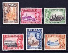 HONG KONG 1941 CENTENARY SET SG 163-168 MINT.
