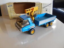 JOUSTRA / TONKA France GOLIATH tin plated TRUCK CAMION OVP TOP RARO SELTEN