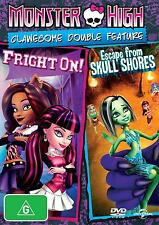 MONSTER HIGH : Escape From Skull Shores / Fright On - DVD - UK Compatible