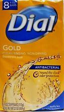 Antibacterial~ Dial Gold Deodorant Soap Antibacterial ~ 8 = 4 oz bars