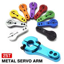 25T Aluminio Aleación Digital Servo Horn Arm parte para MG996 MG995 del aparato de gobierno