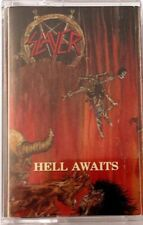 SLAYER - Hell Awaits CASSETTE TAPE - SEALED NEW COPY Thrash Metal Classic 2015