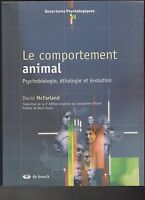 Le comportement animal - Psychobiologie, éthologie et évolution, David McFarland
