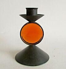 Glass & Metal Candle Holder By Erik Hoglund 3/3