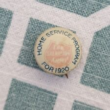 Antique 1920 Salvation Army Metal Button Pin