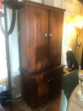 Antique American Old Pine Kitchen Cupboard