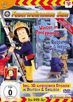 FEUERWEHRMANN SAM - BOX VOL.3: WINTER IN PONTYPANDY/RETTUNG... 2 DVD NEUF