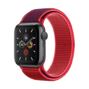 40/44mm Nylon Sport Loop for Apple Watch Series 6 5 4 3 2 1 SE iWatch Band Strap