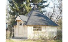 XL-Grillkota /XL-Grillhütte Deluxe 16,5m²
