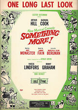 "Barbara Cook ""SOMETHING MORE!"" Sammy Fain 1964 Musical FLOP Tryout Sheet Music"