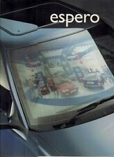 Daewoo Espero 1995-96 UK Market Sales Brochure 1.5 GLXi 1.8 CDi 2.0 CDXi