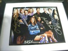 Ally Mcbeal Cast signed photo framed / 10 signatures
