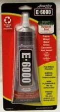 E6000 GLUE ~ 2 oz size ~ Waterproof Glue for sewing and crafting