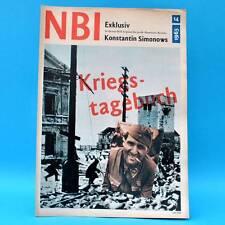 DDR NBI 14/1965 Kosmonaut Leonow MS Erich Weinert Louis Armstrong Simonow O