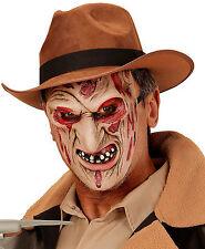 Freddy Freddie Burning Man Halloween Fancy Dress Burnt Burned Face Mask