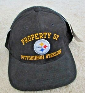 Property of Pittsburgh Steelers Cap Hat, New with Tags