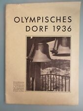 OLYMPISCHES DORF 1936 Berlin Olympische Spiele Olympia Hitler Blomberg March