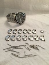 MENS WATCH 1455/453 OMEGA SEAMASTER 200M PRE BOND BRACELET LINK PIN AND TUBE