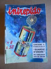INTREPIDO n°6 1962  [G394A]  con inserto Enciclopedia